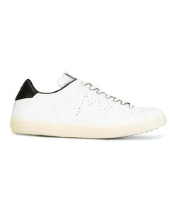 Leather Crown | Perforated Detail Sneakers 41 Leather/Rubber