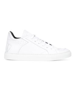 MM6 by Maison Margiela | Mm6 Maison Margiela Lace-Up Sneakers 40 Leather/Rubber