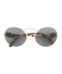 Prada Eyewear   Round Frame Sunglasses Acetate/Metal Other