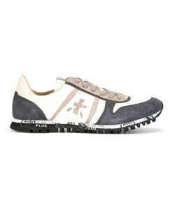 PREMIATA WHITE | Simon Sneakers 41 Cotton/Leather/Rubber