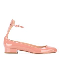 FRANCESCO RUSSO | Ankle Strap Ballerinas 36 Leather
