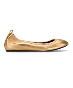Lanvin | Classic Ballerina Shoes Size 38 Calf Leather/Goat Skin/Bos