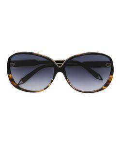 Victoria Beckham | Объемные Солнцезащитные Очки С Эффектом Черепашьего Панциря