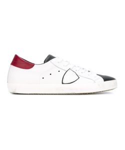 Philippe Model | Classic Lace-Up Sneakers 41 Leather/Rubber