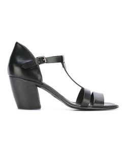 Pantanetti | T-Strap Sandals 39 Calf Leather