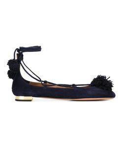 Aquazzura | Sunshine Ballerinas 36.5 Calf Leather/Goat Skin/Suede