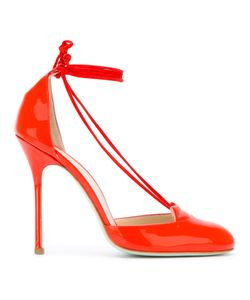 GIANNICO | Tied Cut Out Pumps