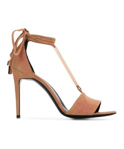 Pierre Hardy   Blondie Sandals 36 Leather/Suede/Metal Other