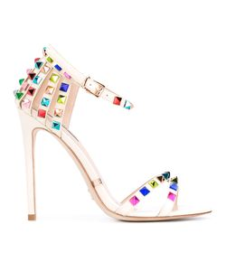 GIANNI RENZI | Stud Embellished Sandals