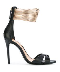 SCHUTZ | Cross Strap Sandals Size 38