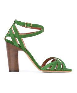 Michel Vivien | Folco Sandals 41 Suede/Leather