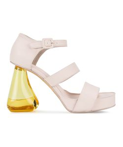 Simone Rocha   Chunky Heeled Open Toe Sandals