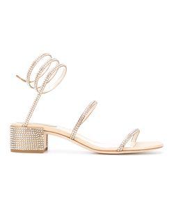 Rene' Caovilla | René Caovilla Studded Rhinestone Sandals Size 37