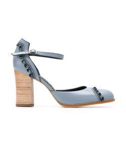 Sarah Chofakian | Chunky Heel Pumps Size 36
