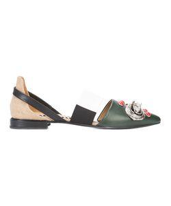 Toga Pulla | Buckle Embellishment Sandals Size 38