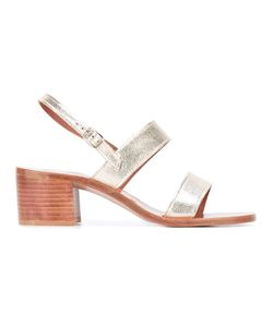 K. Jacques | Erasme Chunky Heel Sandals 40 Leather