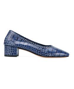 Maryam Nassir Zadeh | Roberta Crocodile-Effect Pumps 35 Leather