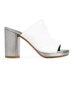 Robert Clergerie   Platform Mule Sandals Size 39 Calf Leather/Lamb