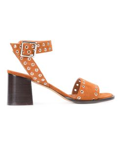 Derek Lam | Eyelets Buckled Sandals