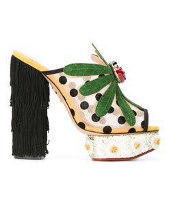 Charlotte Olympia | Not-So-Secret-Garden Mules Size 37