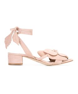Olgana | Dahlia Kitty Sandals 37.5 Suede/Leather
