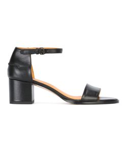 Veronique Branquinho | Mid Heel Sandals Calf Leather/Leather/Bos
