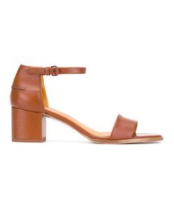 Veronique Branquinho | Mid Heel Sandals Calf Leather/Leather/Bos