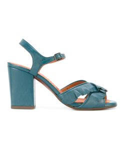 Chie Mihara | Crossover Strap Sandals 39 Leather/Rubber