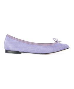 Repetto | Cendrillon Ballerinas 35 Calf Suede/Leather/Cotton