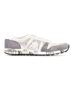 PREMIATA WHITE | Lucy Sneakers 42 Leather/Suede/Rubber