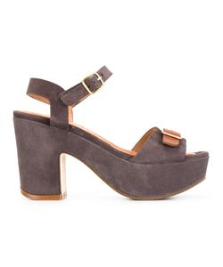 Chie Mihara | Fasha Sandals 39 Calf Leather/Calf Suede/Rubber