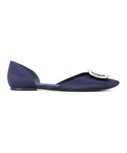 Roger Vivier | Chips Strass Ballerina Flats Size 35.5