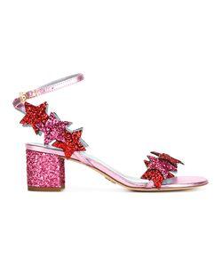 Chiara Ferragni | Glitter Stars Sandals 39