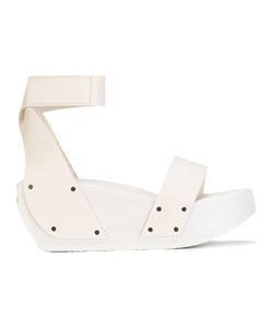 Trippen | Gleam Platform Sandals 38 Leather/Wood/Rubber