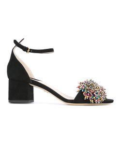 Elie Saab | Embellished Pom Pom Sandals