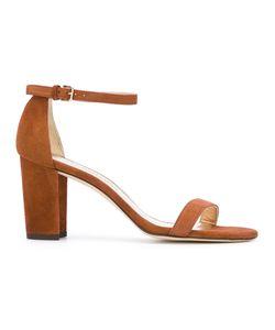Stuart Weitzman | Nearly Nude Sandal 36.5 Suede/Leather