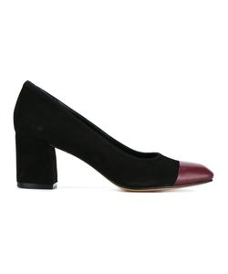 Maryam Nassir Zadeh | Suede And Leather Mid Heel Pumps 41