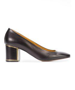 Veronique Branquinho | Low Block Heel Pumps Calf