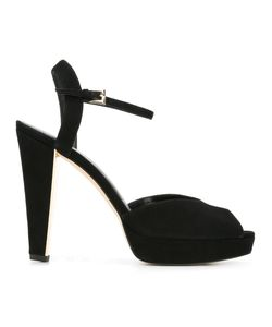 Michael Michael Kors | Platform Sandals 7 Leather/Suede/Rubber