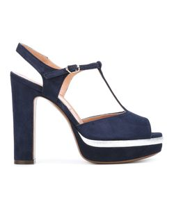 L' Autre Chose | Lautre Chose Ankle Length Sandals 36 Suede/Leather