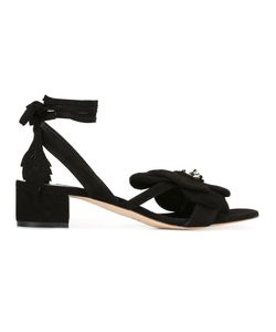Olgana | Dahlia Kitty Sandals 38 Suede/Leather