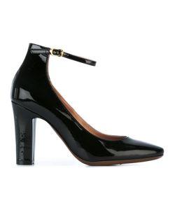 L' Autre Chose | Lautre Chose Ankle Strap Pumps 40 Calf Leather/Leather