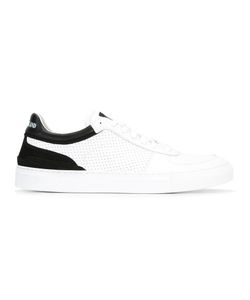 Stone Island | Lace-Up Sneakers 42 Leather/Rubber