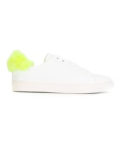 Anya Hindmarch | Furry Trim Trainers 37 Nappa Leather/Leather/Artificial