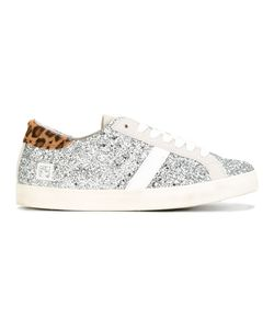D.A.T.E. | Glitter Sneakers 39 Cotton/Suede/Leather/Rubber