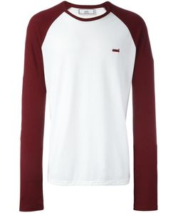 Ami Alexandre Mattiussi | Raglan Sleeve Baseball T-Shirt Large