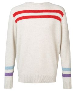 The Elder Statesman | Cashmere Striped Jumper Adult Unisex Xs