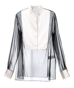 Lanvin | Блузка С Прозрачным Нагрудником