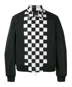 Dsquared2 | Checkerboard Panel Bomber Jacket
