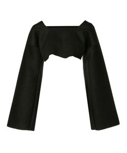 SABINE LUISE | Cropped Cashmere Blouse Cashmere